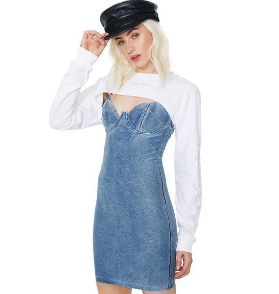 Nothin' To Lose Denim Dress