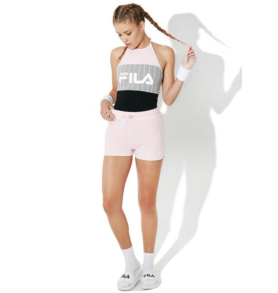 Fila Fia Logo Stripe Bodysuit