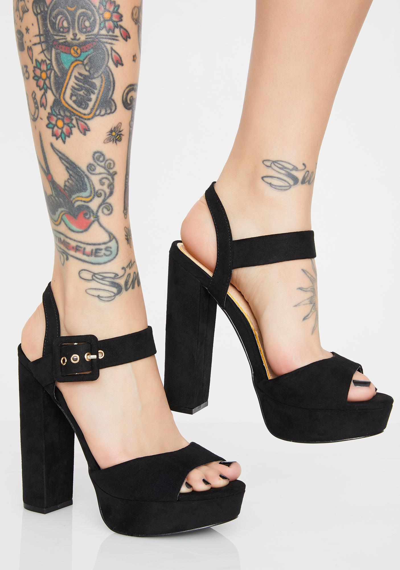Main Event Chunky Heels