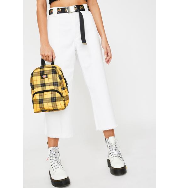 Dickies Tartan Plaid Mini Backpack