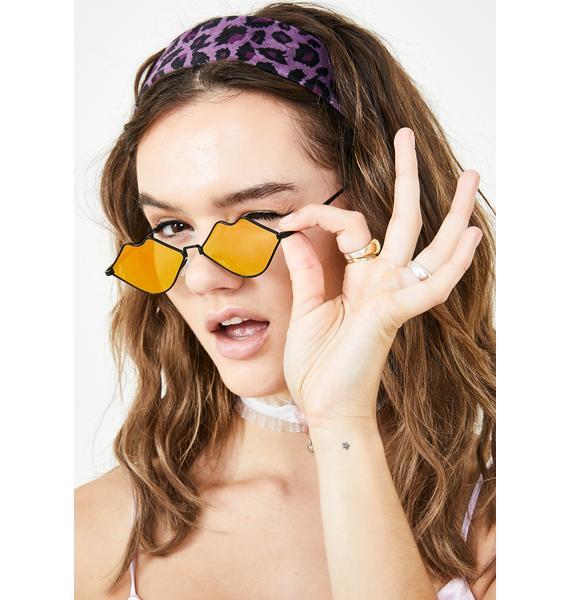 Sour Read My Lips Sunglasses