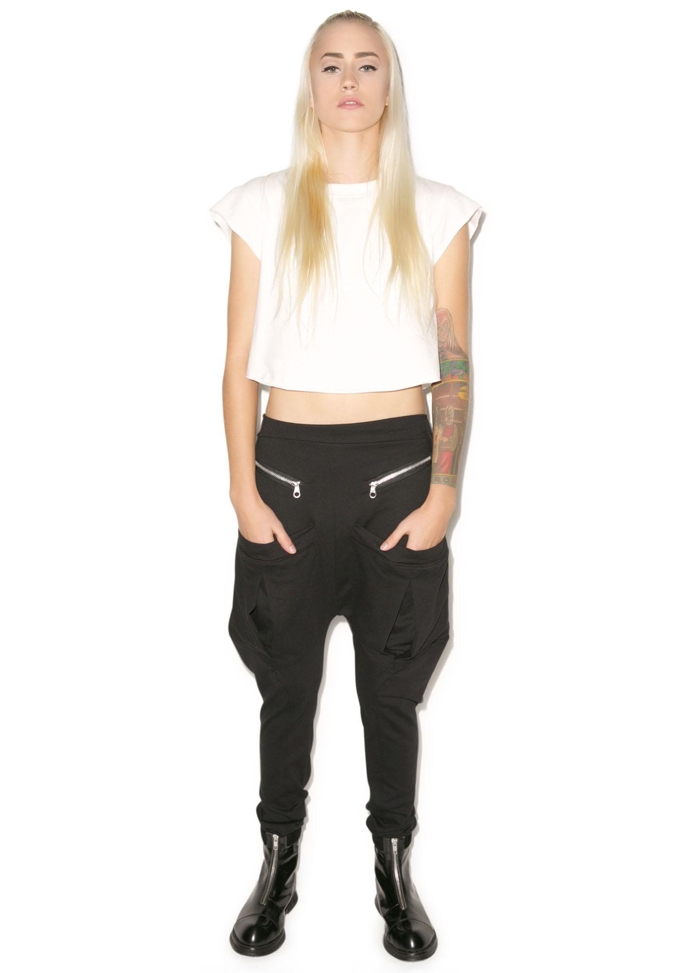 MNML Pack Leader Pocketed Drop Crotch Pants