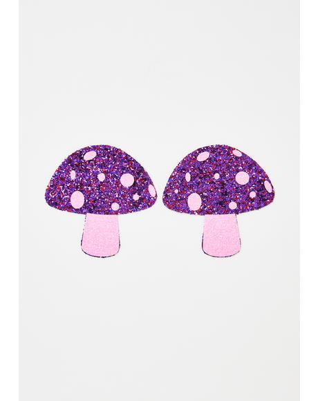 Pink Shroom Pasties