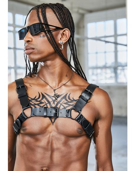 Fallen Gods Vegan Leather Harness