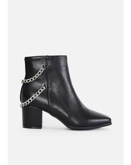 Dark You Problem Chain Boots