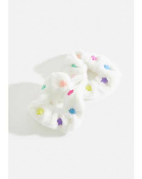 Falling For Stars Scrunchie Set