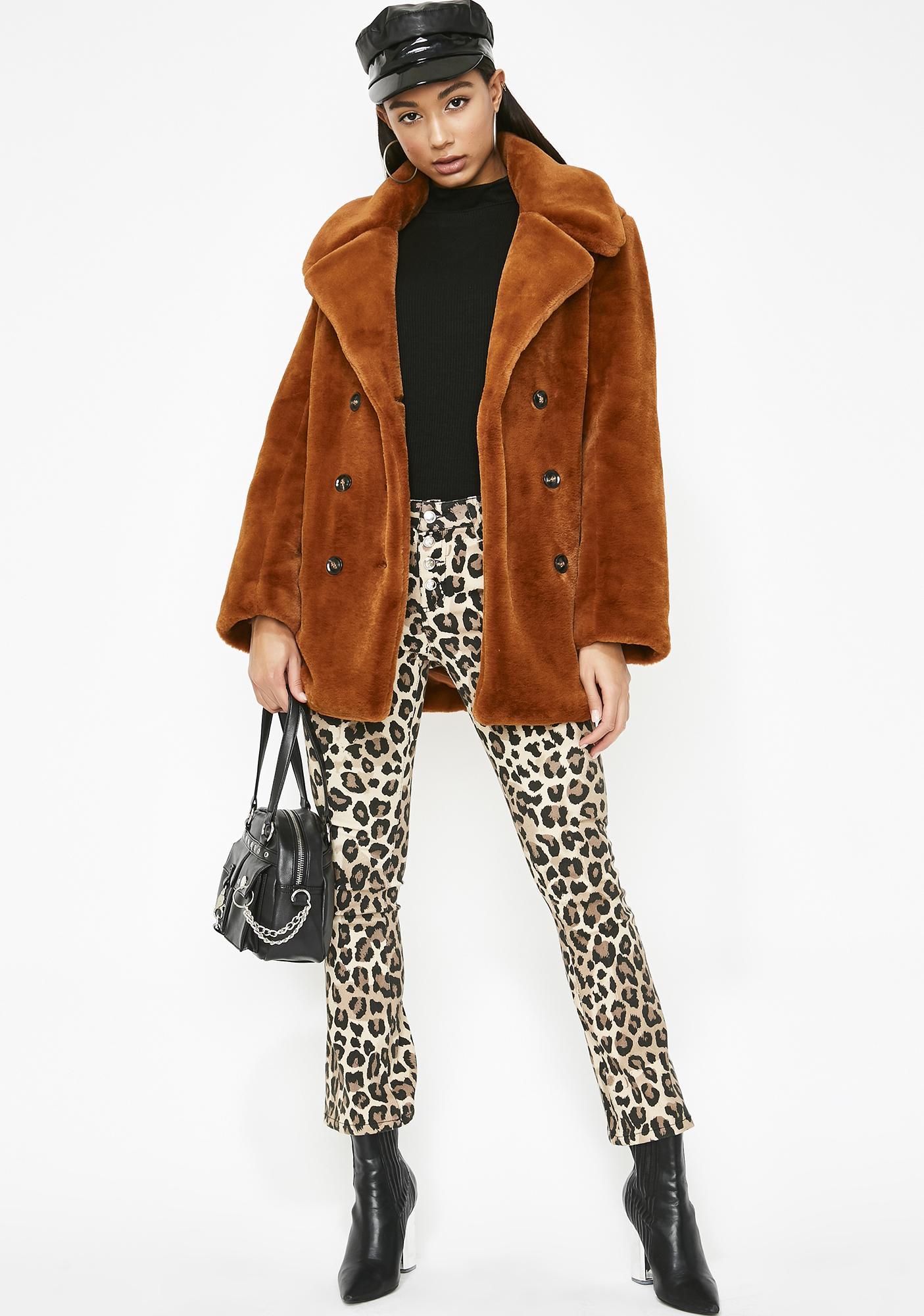 Sassy Chic Furry Jacket
