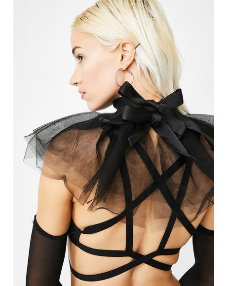 Paris Is Burning Tulle Neck Piece