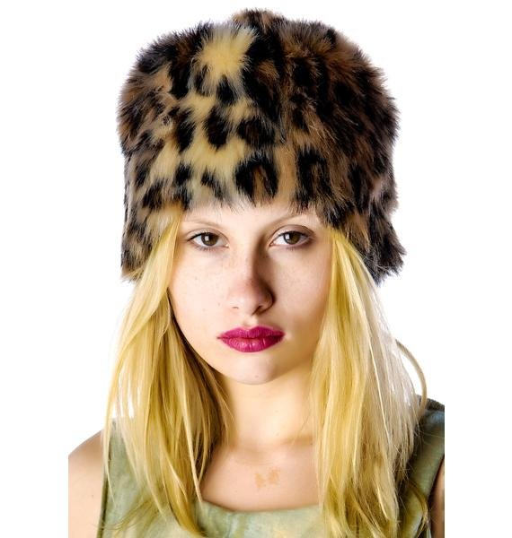 United Couture Friday Midnight Fur Hat