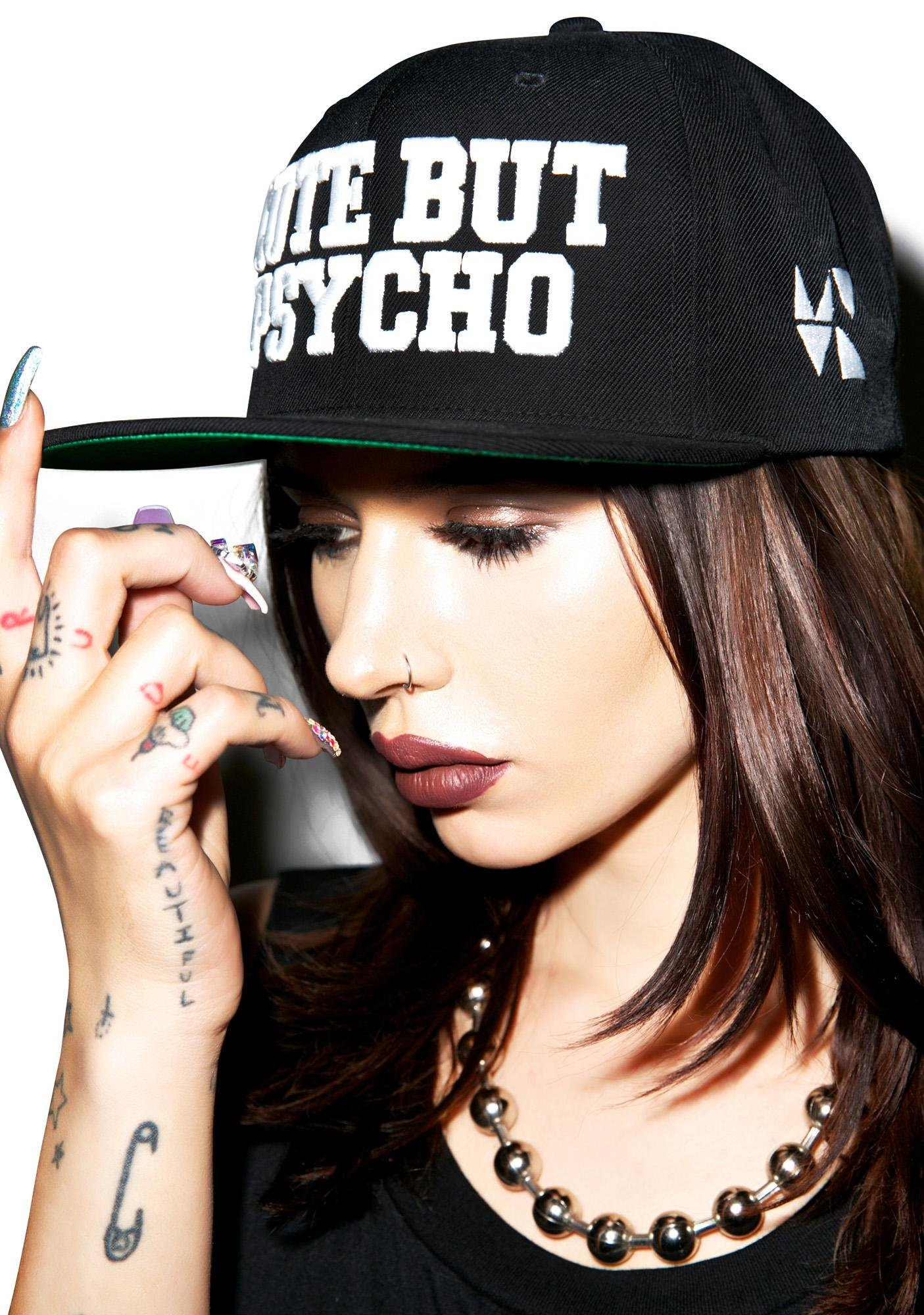 MeYouVersusLife Cute But Psycho Snapback