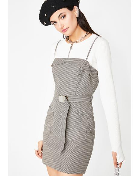 Nice Gal Belted Dress