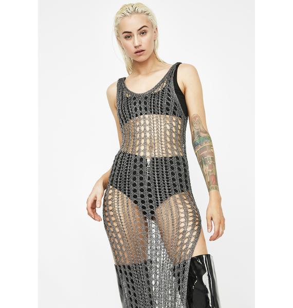 Show Off Midi Dress