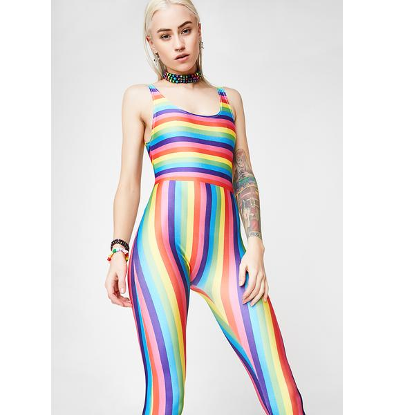 Minga Taste Da Rainbow Jumpsuit