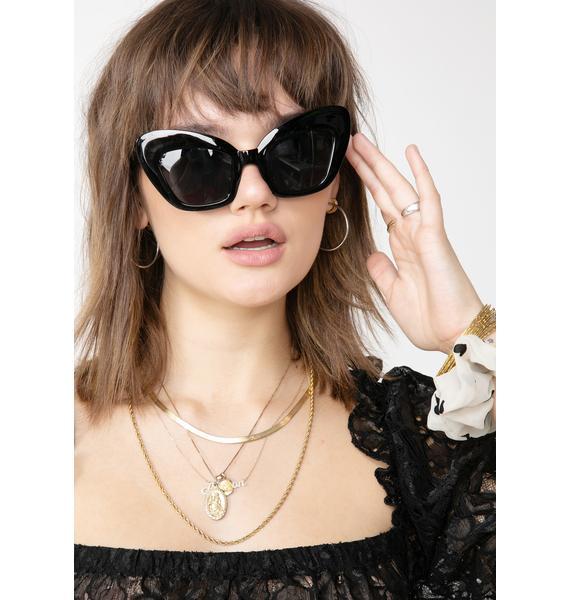 No Foolin' Oversized Sunglasses