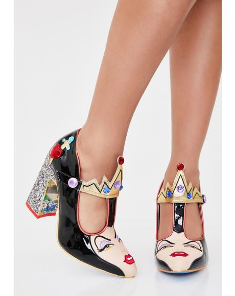 The Evil Queen Patent Heels