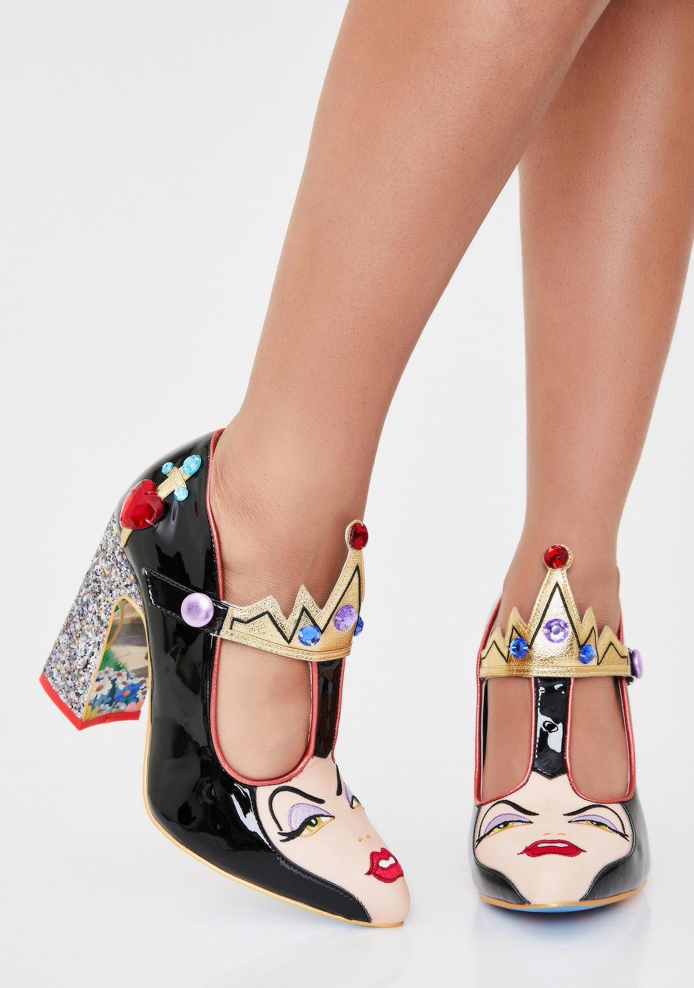 Irregular Choice The Evil Queen Patent Heels
