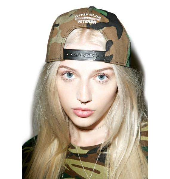 Reason Camo Strip Club Veteran Snapback