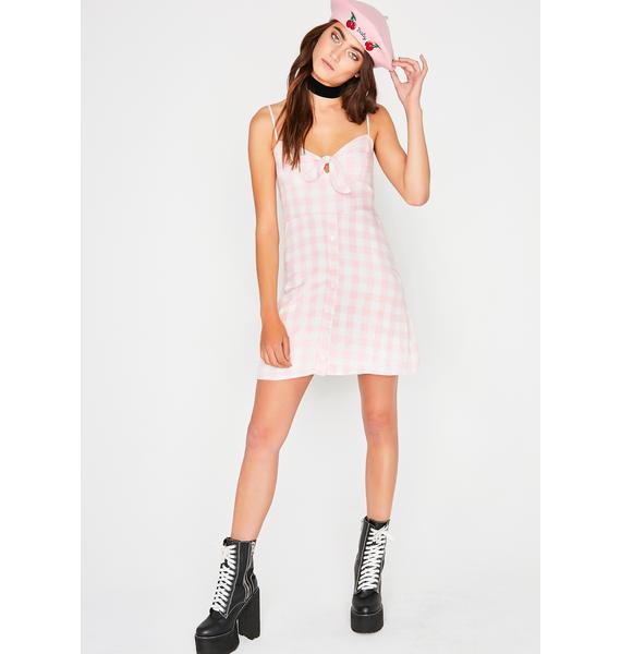 Pardon Me Gingham Dress