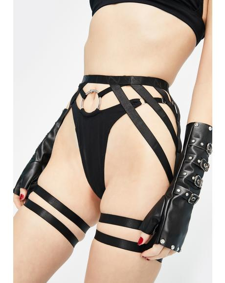 Stay Strapped Garter Belt