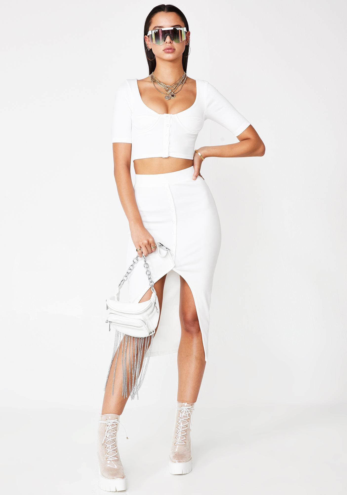 Sittin' Pretty Midi Skirt Set