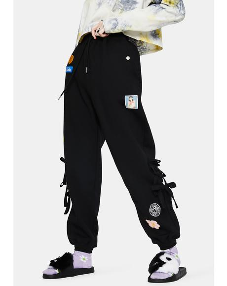 Patches All Over Sweatpants