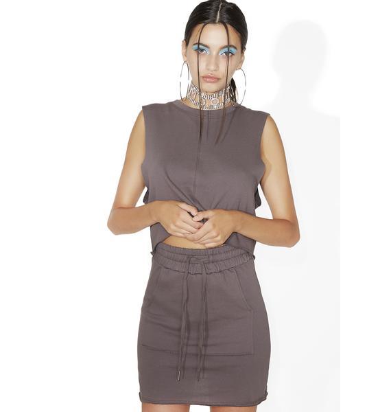 What A Feelin' Drawstring Skirt