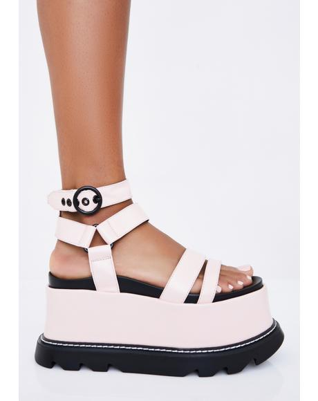 Sugar Keep Smiling BB Platform Sandals