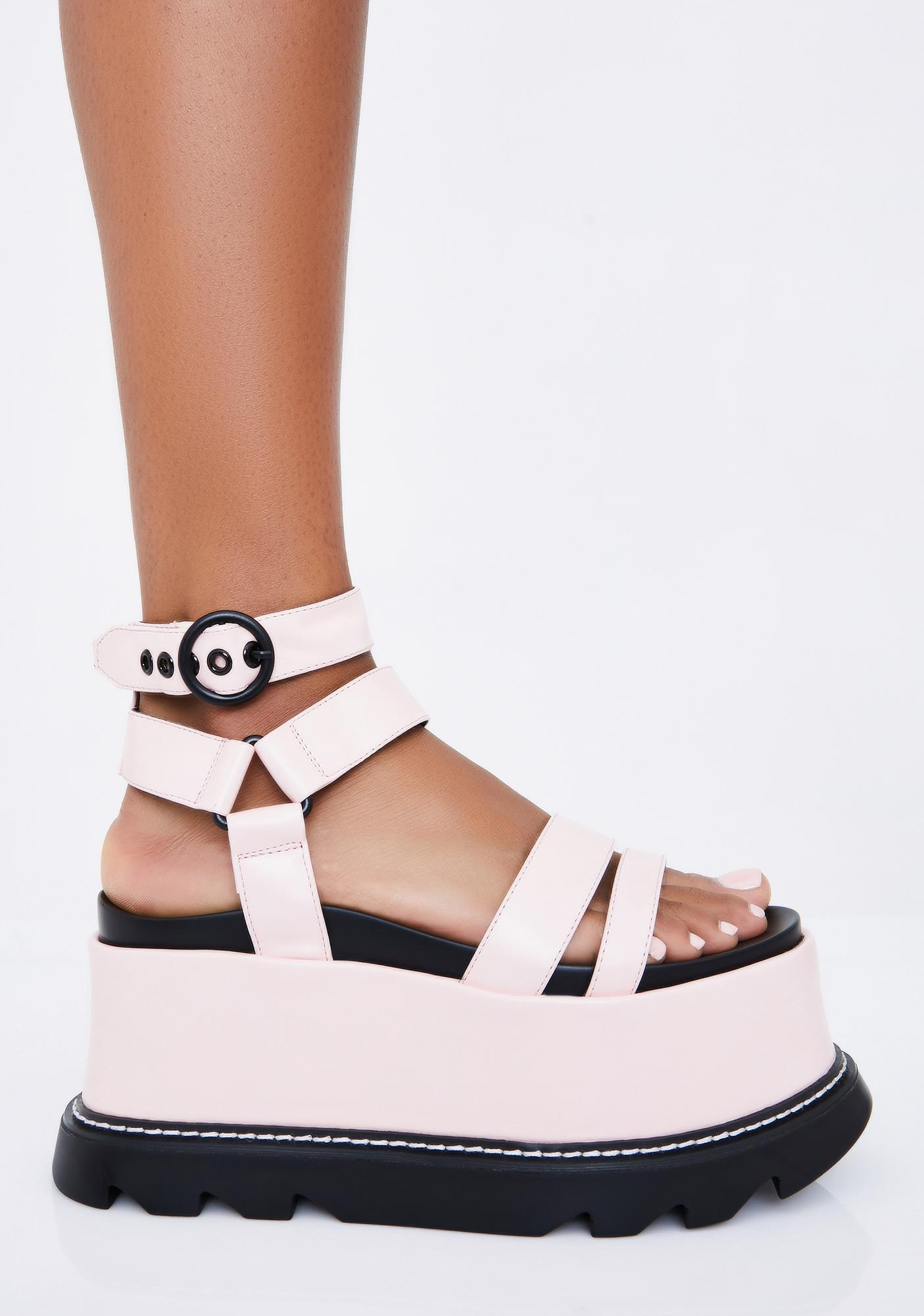 Lamoda Sugar Keep Smiling BB Platform Sandals