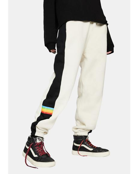 x Polaroid VHS Two-Tone Sweatpants