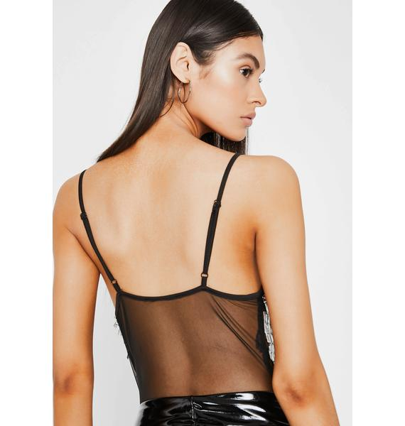 Bossy Boost Sequin Bodysuit