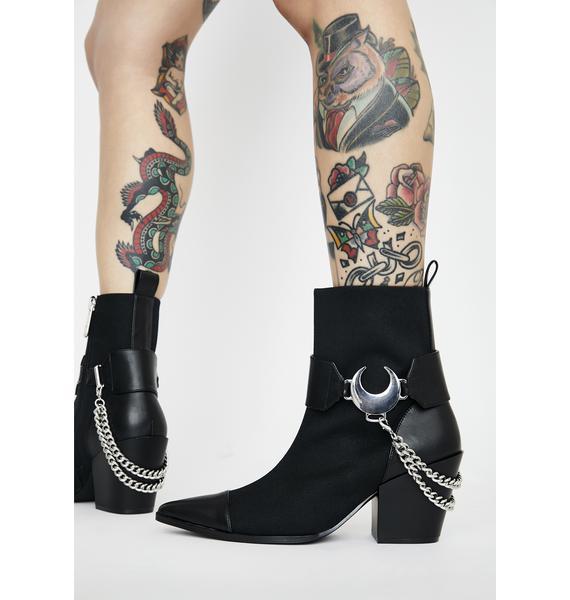 Killstar Luna Ankle Boots
