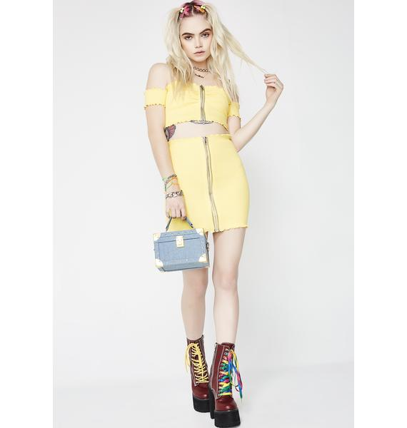 Servin' Ya Lemonade Knit Set