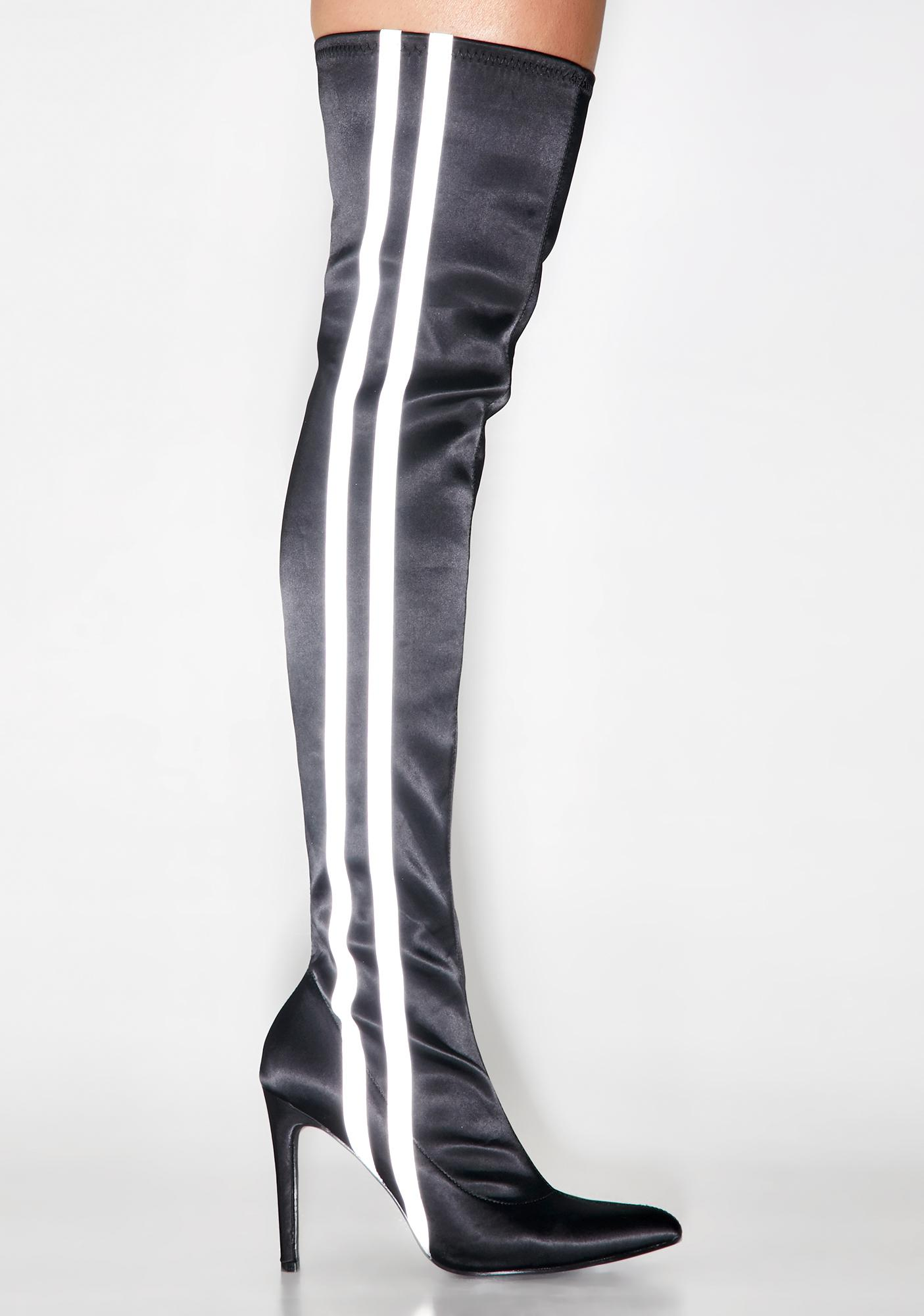 Poster Grl Glowin' Hour Reflective Boots