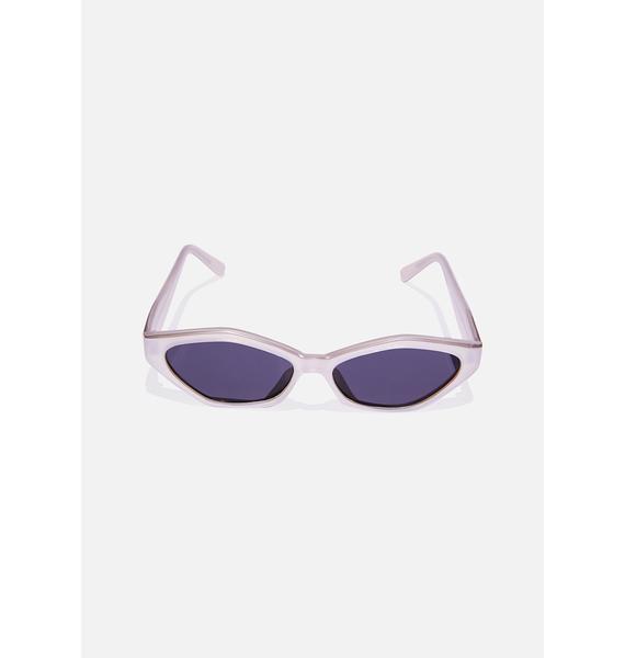 Good Times Eyewear White Brooke Sunglasses