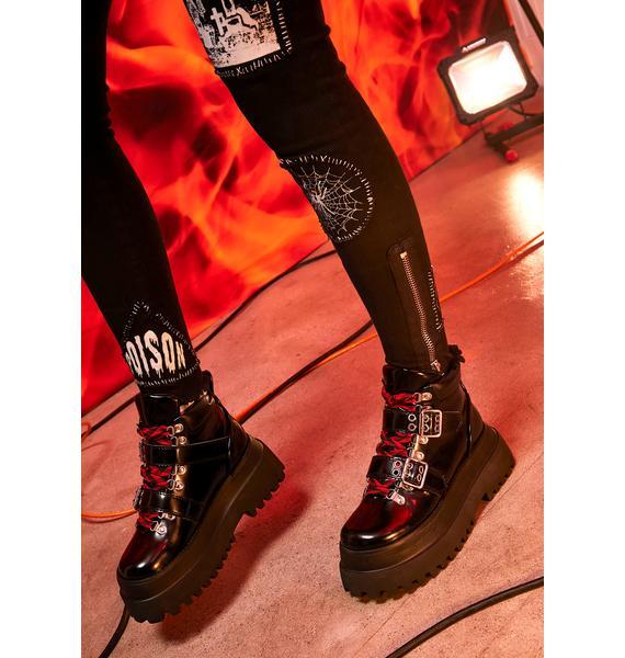 Current Mood Total Firebrand Platform Boots