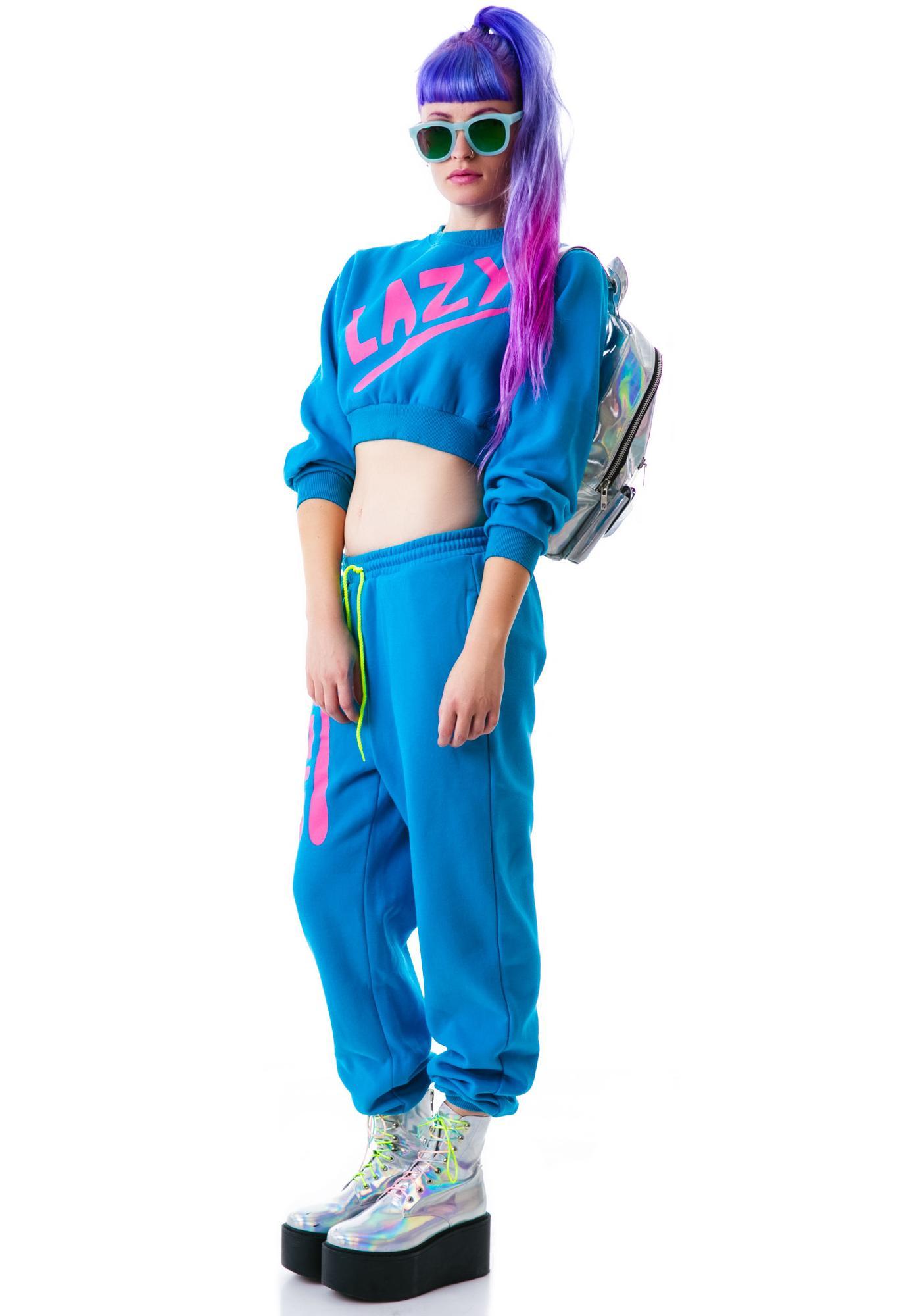 Lazy Oaf Swoosh Sweatshirt