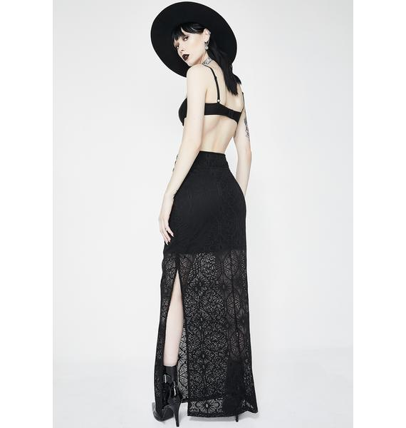 Killstar Angelina Maxi Skirt