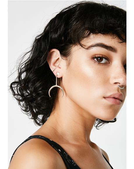 Lunar Visions Drop Earrings