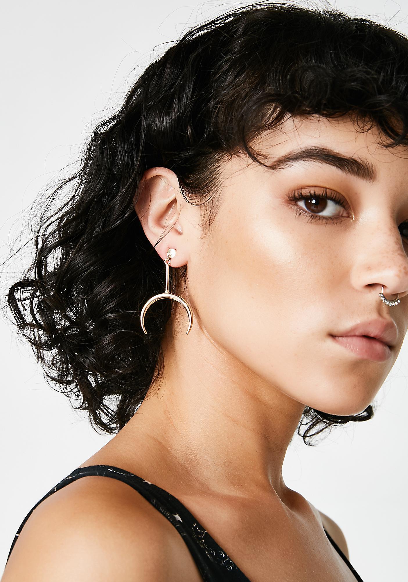 Lunar Visions Drop Earrings