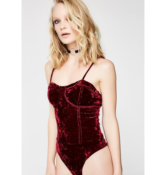 Beating Heart Bustier Bodysuit