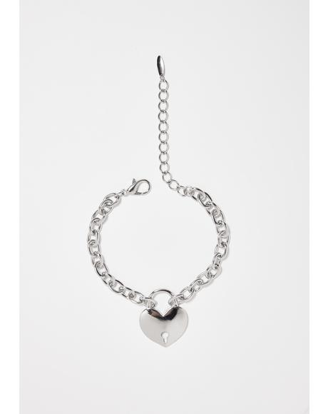 Slay Girl Heart Anklet