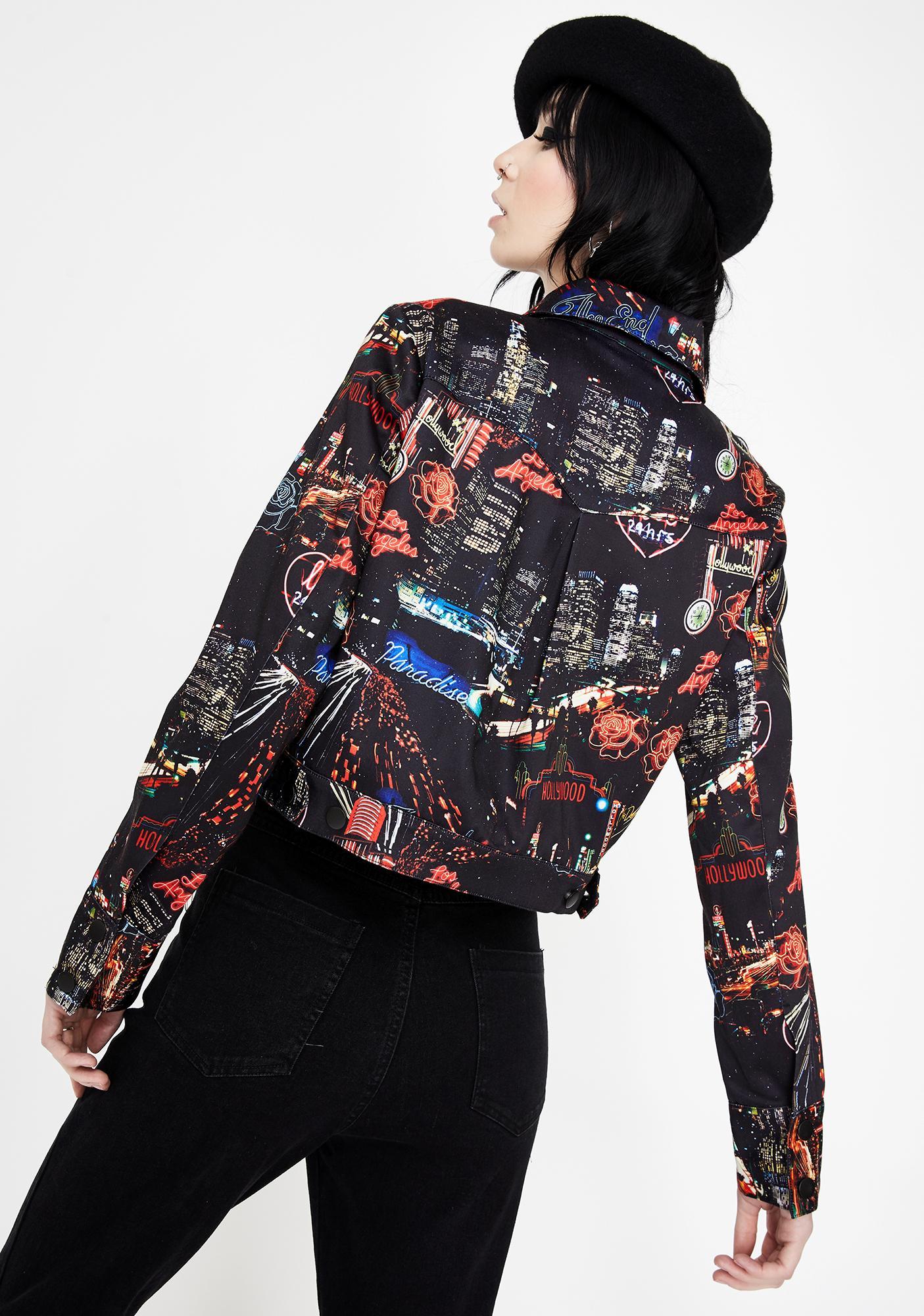 Jawbreaker City Lights Of Paradise Zip Up Jacket