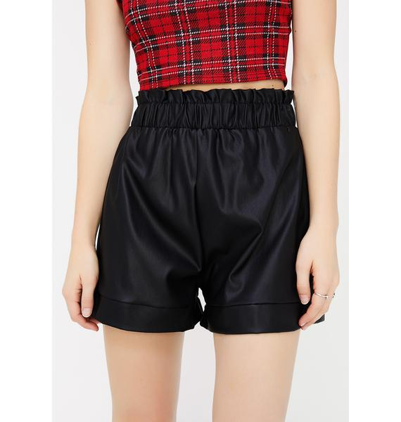 Bad Habit Cuffed Shorts
