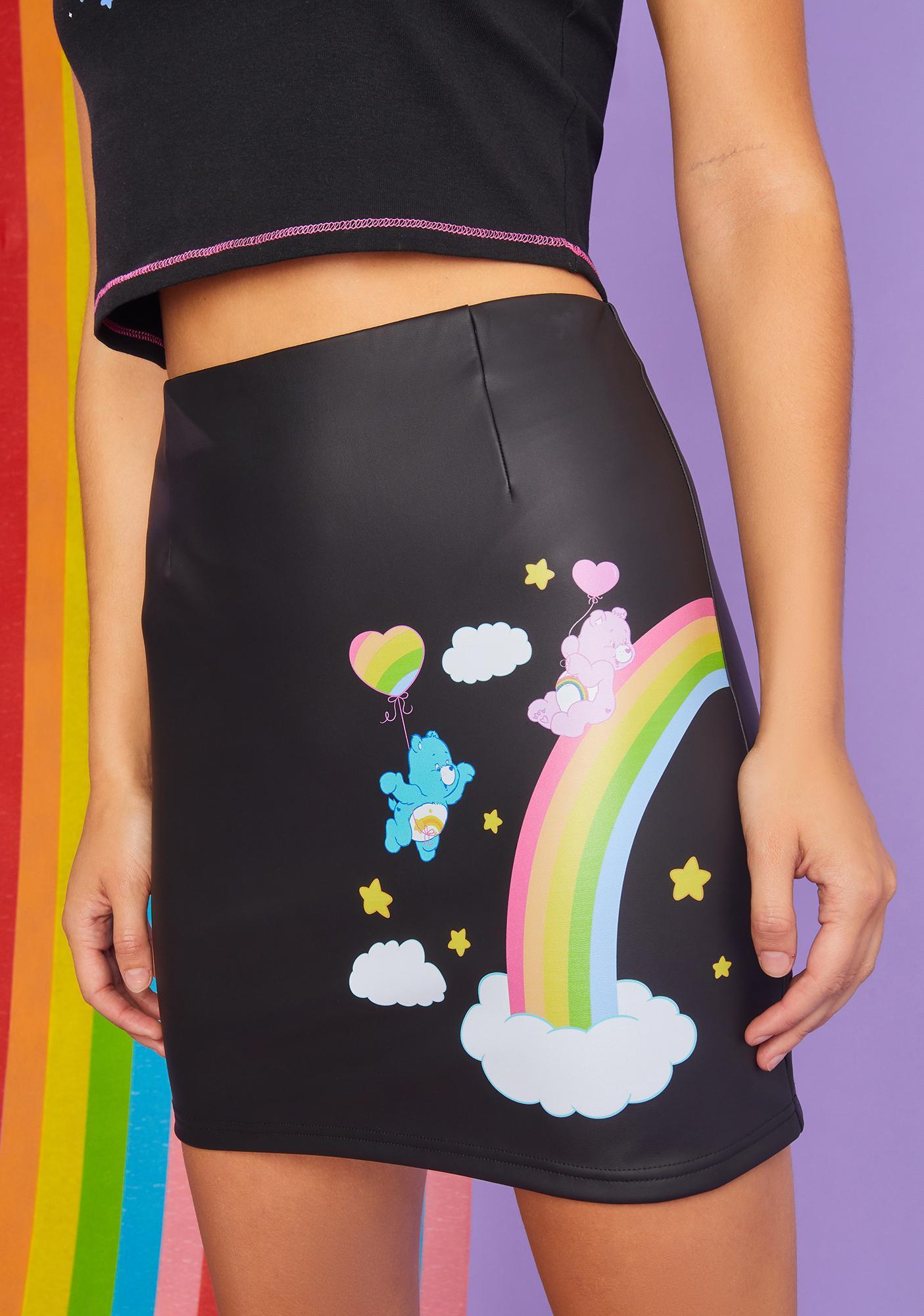 Dolls Kill x Care Bears Planet Care Mini Skirt