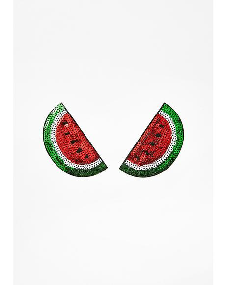 Watermelon Nifty Nipztix Pasties