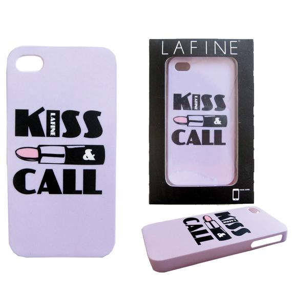 Kiss and Call iPhone Case