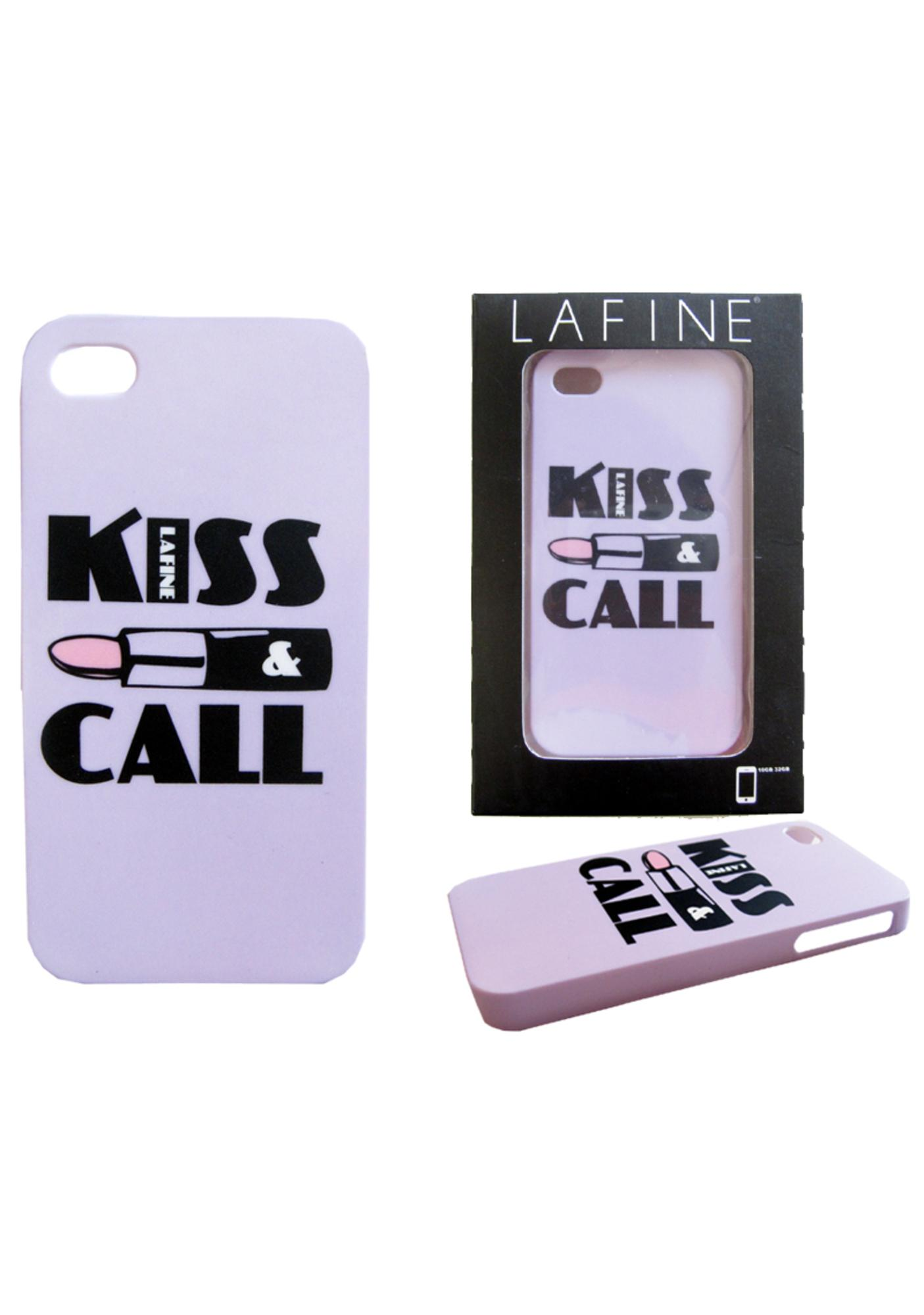 Lafine Kiss and Call iPhone Case