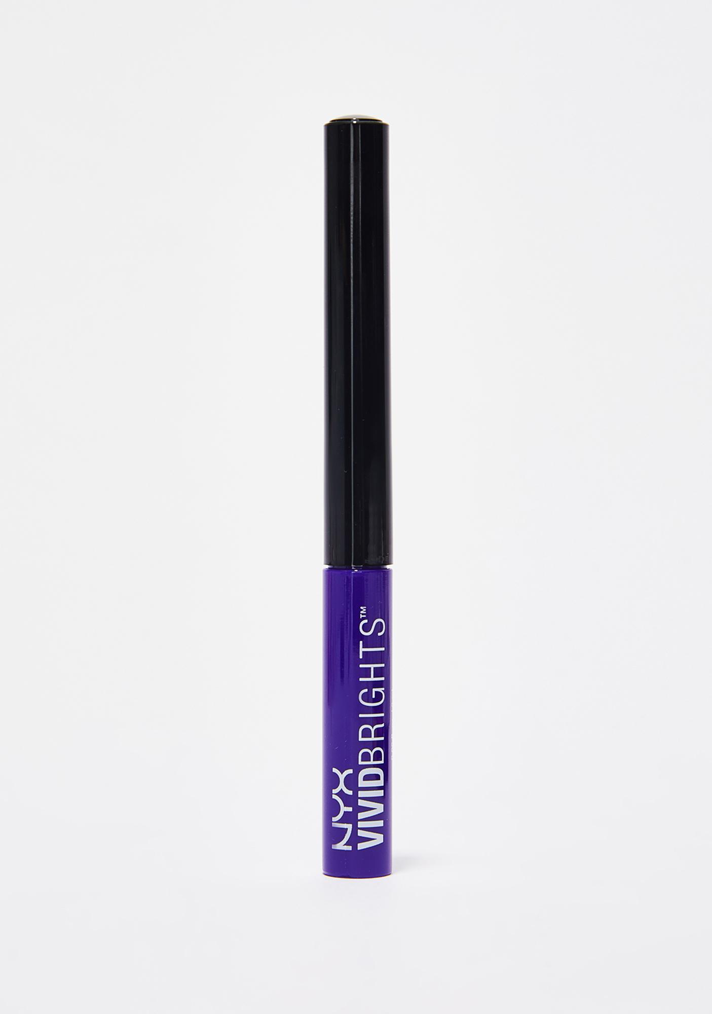 NYX Vivid Violet Vivid Brights Eyeliner