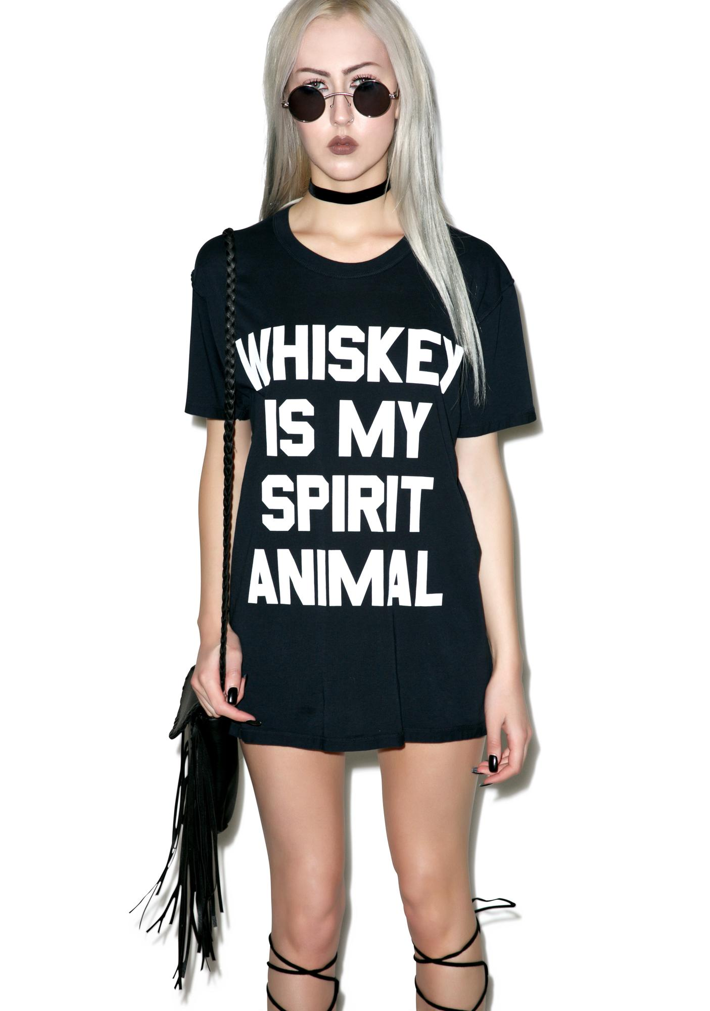 Jac Vanek Spirit Animal Perfect Tee