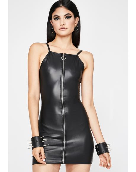 Darkness Destroyed Bodycon Dress